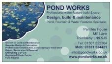 pond works